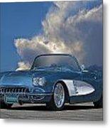 1959 Corvette Roadster 1 Metal Print