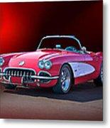 1959 Corvette Roadster 2 Metal Print