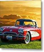 1959 Corvette Roadster Metal Print