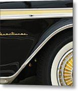 1959 Desoto Adventurer Convertible Wheel Metal Print