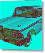 1959 Edsel Ford Ranger Modern Popart Metal Print