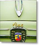 1959 Fiat 600 Derivazione 750 Abarth Hood Ornament Metal Print