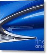 Blue Galaxie Metal Print