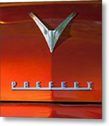 1959 Ford Prefect Hood Ornament Metal Print