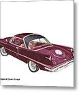Imperial By Chrysler Metal Print
