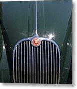 1959 Jaguar Xk150 Dhc 5d23301 Metal Print
