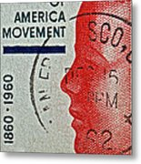 1960 Boys' Clubs Of America Movement Stamp Metal Print