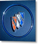 1960 Buick Lesabre Series 4400 Convertible Emblem Metal Print