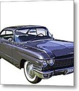 1960 Cadillac - Classic Luxury Car Metal Print