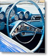 1960 Chevrolet Bel Air 4 012315 Metal Print