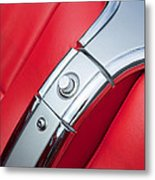 1960 Chevrolet Corvette Compartment Metal Print