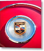 1960 Chrysler Imperial Crown Convertible Emblem Metal Print