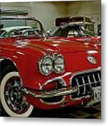 1960 Corvette Metal Print