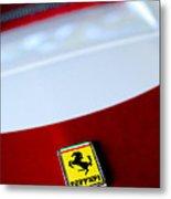 1960 Ferrari 250 Gt Swb Berlinetta Competizione Grille Emblem Metal Print by Jill Reger