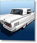 1960 Ford Thunderbird Metal Print