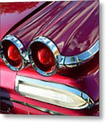 1960 Jet Engine Styling Metal Print
