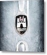 1960 Volkswagen Vw Emblem Metal Print