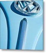 1960 Volkswagen Vw Hood Emblem Metal Print