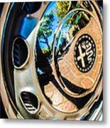 1961 Alfa Romeo Giulietta Sprint Speciale Wheel Emblem -0051c Metal Print