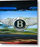 1961 Bentley S2 Continental - Flying Spur - Emblem Metal Print