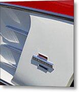 1961 Chevrolet Corvette Side Emblem Metal Print