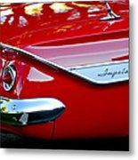 1961 Chevrolet Impala Taillight Emblem Metal Print