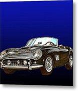 1961 Ferrari 250 G T California Metal Print