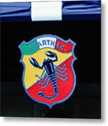 1961 Fiat-abarth 1000 Bialbero Gt Competition Coupe Emblem Metal Print