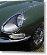 1961 Jaguar Xke Roadster 5d23321 Metal Print by Wingsdomain Art and Photography