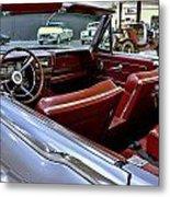 1961 Lincoln Continental Interior Metal Print