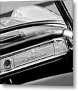 1961 Mercedes-benz 300 Sl Roadster Dashboard Emblem Metal Print