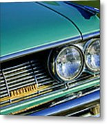 1961 Pontiac Bonneville Grille Emblem Metal Print