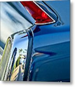 1962 Cadillac Deville Taillight Metal Print