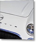 1962 Chevrolet Corvette Convertible Metal Print