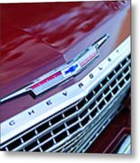 1962 Chevrolet Impala Ss Grille Metal Print