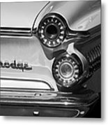 1962 Dodge Dart Taillight Emblem Metal Print