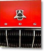 1962 Dodge Polara 500 Emblem Metal Print