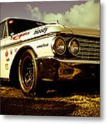 1962 Ford Galaxie 500 Metal Print by Phil 'motography' Clark