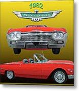 1962 Ford T-bird Sport Metal Print