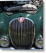 1962 Jaguar Mark II 5d23327 Metal Print by Wingsdomain Art and Photography