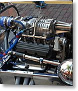 1962 V6 Lotus Engine Metal Print