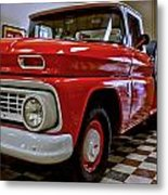 1963 Chev Pick Up Metal Print