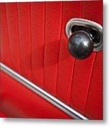 1963 Chevrolet Corvette Split Window Door Latch -185c Metal Print