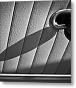 1963 Chevrolet Corvette Split Window Door Latch -295bw Metal Print