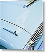 1963 Ford Falcon Futura Convertible Hood Metal Print by Jill Reger