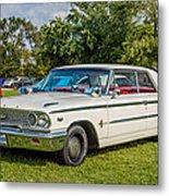 1963 Ford Galaxie 500xl Hardtop Metal Print