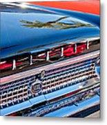 1963 Ford Galaxie 500xl Taillight Emblem Metal Print