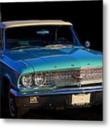 1963 Ford Galaxy Metal Print