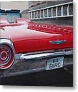 1963 Ford Thunderbird Metal Print