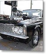 1963 Plymouth Modified Sedan Metal Print